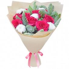Букет Снежная роза